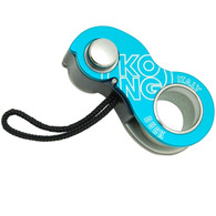 Kong Duck Belay Device - Cyan / Grey