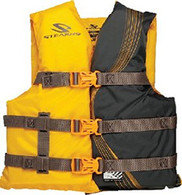 Stearns Youth Life Jacket - Gold (50-90 lbs)