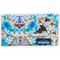 Kavu Big Spender Wallet - Midnight Floral