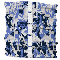 Dog Reflective Buff - Cat Camo Blue S/M