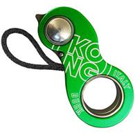 Kong Duck Belay Device - Black/Green