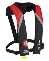 ONYX A-24 Red In-Sight Auto Inflate Life Jacket