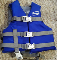 Stearns Watersports Vest (Blue, Weight- 30-50 Lbs)