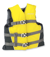 Stearns Youth Vest (Yellow, Weight- 50-90 Lbs)