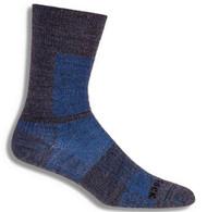 Wrightsock Merino Cool Mesh II Crew Sock - Grey/Blue
