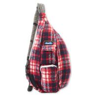 Kavu Plaid Rope Bag - Americana