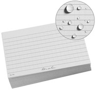"Rite in the Rain All-Weather Index Cards (3"" x 5"") - Gray"