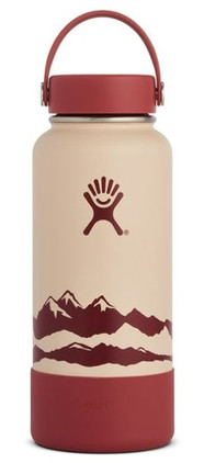 Hydro Flask Wide-Mouth Desert Sandstone Water Bottle with Boot - 32 fl. oz.