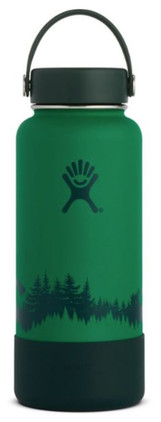 Hydro Flask Wide-Mouth Forest Water Bottle with Boot - 32 fl. oz.