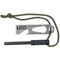 UCO Survival Fire Striker - Ferro Rod - Black