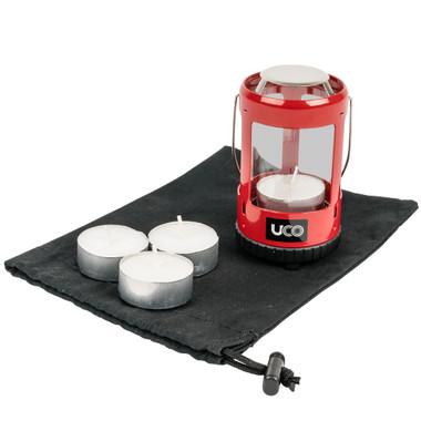 UCO Mini Ultra Light Candle Lantern Kit - Green