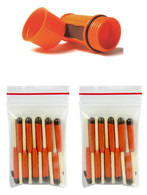 Bundle UCO Orange Match Case + Stormproof Matches (20)
