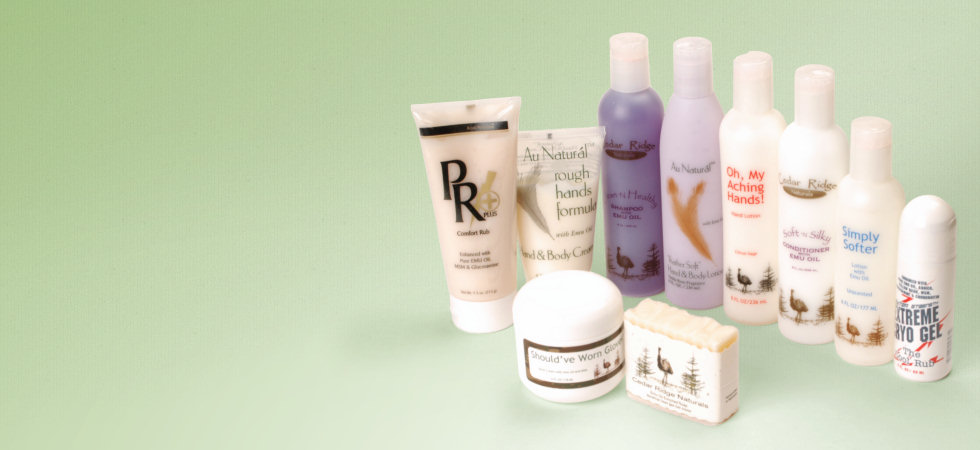 Emu Oil Products