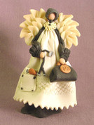 Physician's Assistant Angel Polymer Clay Figurine