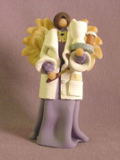 Pharmacist Angel Polymer Clay Figurine