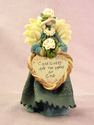Caregivers Angel Polymer Clay Figurine
