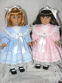 Handmade 18 inch American Girls Dolls Clothes Nellie BLUE DRESS