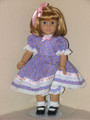 American Girl Handmade 18 inch Doll Clothes Kit LAVENDER DRESS