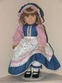 PRAIRIE DRESS, BONNET, APRON BLUE Kirsten American Girl Clothes
