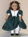Handmade Dress Marie Grace Cecile 18 inch Doll Clothes GreenFern
