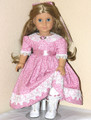 Handmade American Girl Doll 18 inch Doll Dress Rosey Mauve
