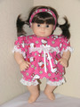 Handmade Doll Clothes for American Girl Bitty Baby Doll - Kitty Pajamas