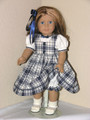 Handmade American Girl Doll Clothes 18 inch Navy Jumper Shirt