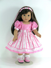 Valentine doll clothes