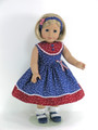 July 4 doll dress