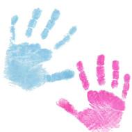 10 Dactek Blue/Pink Inkless Wipes