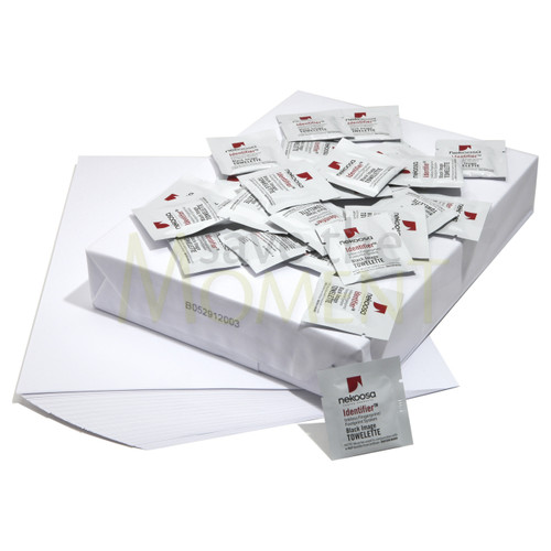 20 bulk wholesale kits of inkless wipes and coated paper