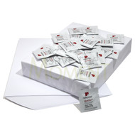 100 bulk wholesale kits of inkless wipes and coated paper