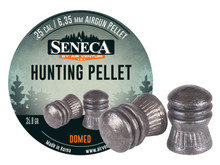 Seneca .25 Cal, 35.8 Grains, Domed, 100ct