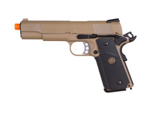 WE Full Metal 1911 MEU Desert Gas Pistol