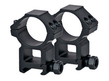 Leapers 30mm Rings, High, Weaver Mount, See-Thru