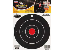 "Birchwood Casey Dirty Bird Bullseye Targets, 8"" Round, 25ct"
