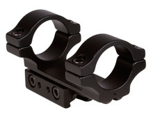 "BKL 1-Pc Mount, 1"" Rings, 3/8"" or 11mm Dovetail, 3"" Long, Matte Black"