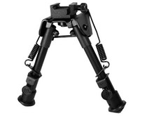 Tactical OP Bipod, SWAT/Combat Profile, Telescoping & Folding Legs
