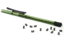 Pellet Pen, Holds 15 .22-Cal Pellets, Green