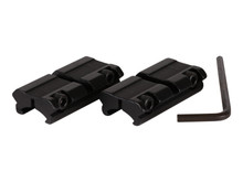 "Hawke Sport Optics 2-Pc Adapter, 3/8"" to Weaver Rail"