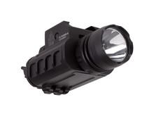 UTG Tactical Pistol Flashlight, 23mm CREE Q5 LED IRB, Quick-Detach Lever Lock Weaver/Picatinny Mount