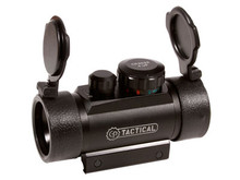 CenterPoint 30mm Metal Enclosed Red/Green Reflex Sight, Built-in Weaver-Style Mounting System