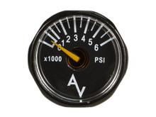 Ninja Air Pressure Gauge, 6,000 psi