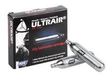 ASG Ultrair 12-Gram CO2 Lubrication Cartridges, 5ct