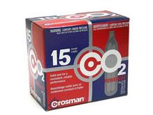 Crosman 12 Gram CO2, 15 Cartridges