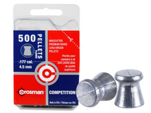 Crosman Competition .177 Cal, 7.4 Grains, Wadcutter, 500ct