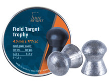 H&N Field Target Trophy .177 Cal, 8.64 Grains, Domed, 500ct