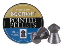 Beeman .177 Cal, 8.53 Grains, Pointed, 500ct