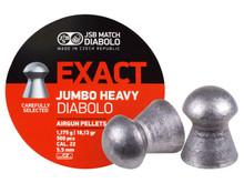 JSB Match Diabolo Exact Jumbo Heavy .22 Cal, 18.13 Grains, Domed, 500ct