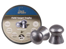 H&N Field Target Trophy .22 Cal, 14.66 Grains, Round Nose, 500ct PY-P-912